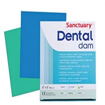Sanctury Dental Dam Medium 성인용 36